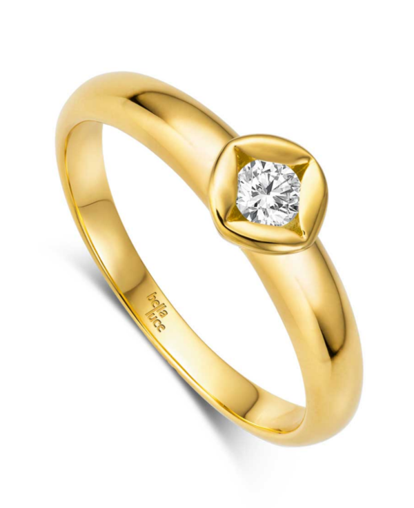 BellaLuce Solitaire Ring Classic